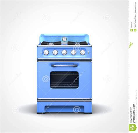vintage blue stove royalty  stock image image