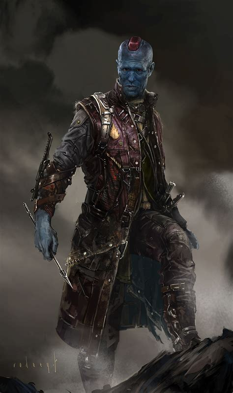 Marvel Guardian Of The Galaxy Yondu guardians of the galaxy concept by rodney fuentebella concept world