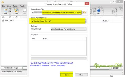 membuat bootable usb windows 7 iso cara membuat bootable flashdisk dengan poweriso kuyhaa