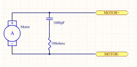 motor snubber capacitor motor using pwm and pid