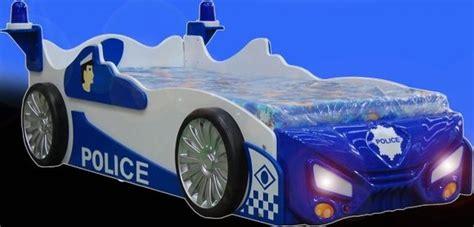 auto betten kinderbett mit matratze jugendbett auto polizei auto