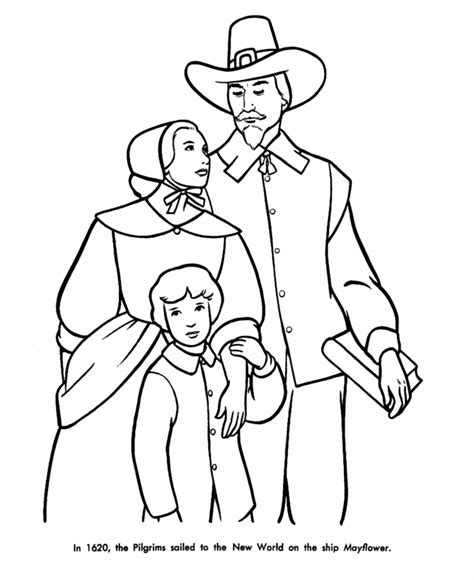pilgrims and indians coloring pages coloring home