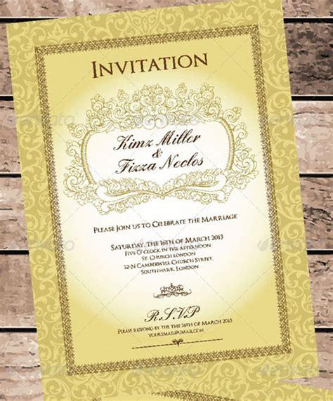 Buffet Menu Cards Template by 30 Wedding Menu Templates Free Word Pdf Psd Card Designs