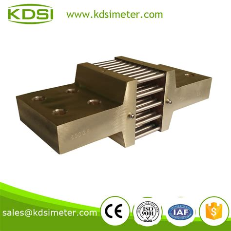 shunt resistor current meter dc current divider shunt resistor for ammeter ere panel meter kds instrument kunshan co