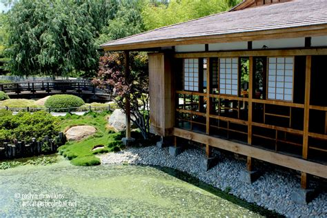 Japanese Zen Home Design the japanese garden at the tillman water reclamation plant