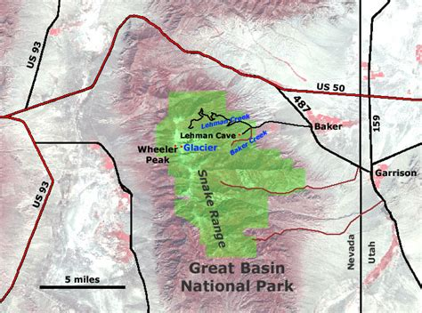 great basin on a map great basin national park pictures posters news and