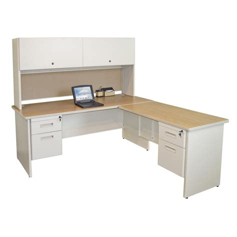 Cheap White Desk With Hutch White L Shaped Desk Design With Chair Desk Design Cheap White L Shaped Desk Designs