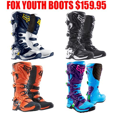 fox comp 5 motocross boots fox youth comp 5 boots pro style mx