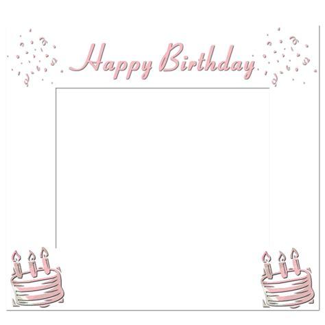 frame png happy birthday