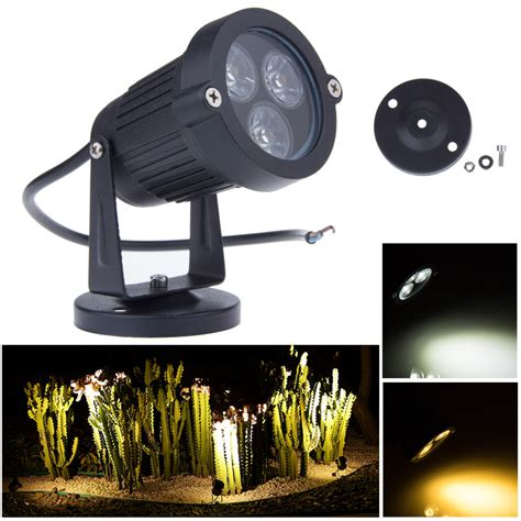 Best Led Outdoor Lights Aliexpress Buy 3 3w 12v Led Garden Lights Lawn Ls Ip65 Waterproof Outdoor Spot Flood