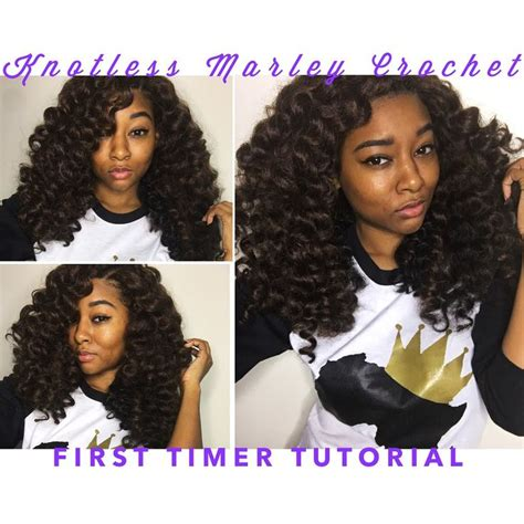 tutorial crochet braiding bh4u youtube knotless marley crochet braids for first timers youtube