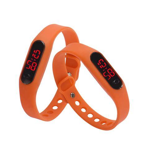 Jam Tangan Gelang Led Maghnet Adidas Nike 1 jual jam tangan lcd jam tangan led nike adidas