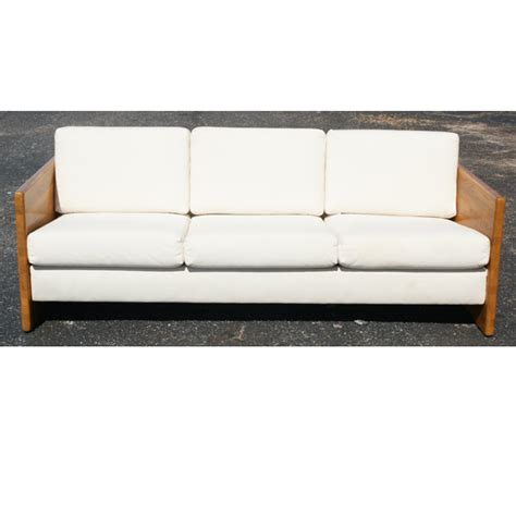 sofa blocks vintage jerryll habegger butcher block sofa couch