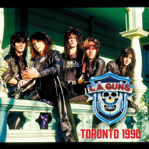 L A Guns l a guns toronto 1990 cd cleopatra records store
