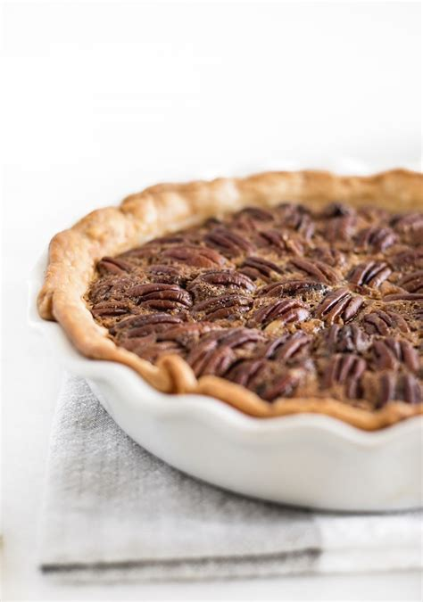 chocolate bourbon pecan pie recipe  corn syrup