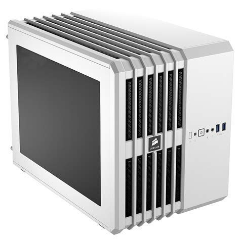 Cube Gaming Savora White Matx No Dvd Include 1x120mm Led corsair carbide air 240 micro mini itx white gaming pc cc 9011069 ww