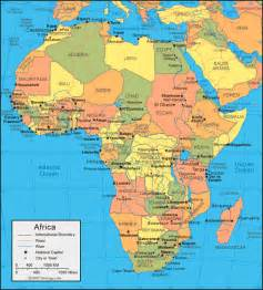 Map Africa by Africa Map And Satellite Image