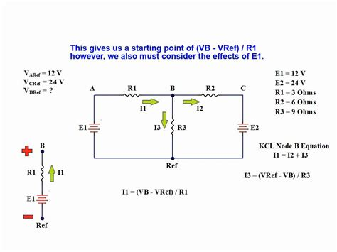 nodal analysis voltage across resistor tutorial on node voltage analysis of a linear dc network using kirchhoff s current