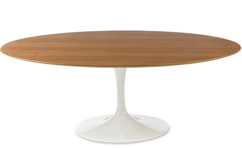 Sarineen Table Saarinen Coffee Table Wood Veneer Hivemodern