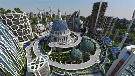 Best Small House Design by Climate Hope City Minecraft Building Inc