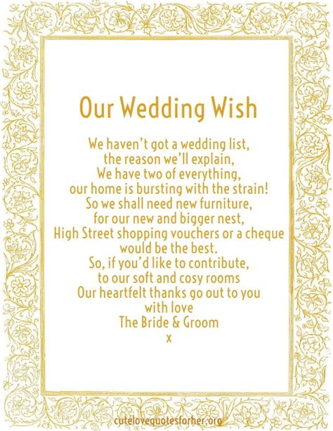 Wedding Invitation Card Poems by Honeymoon Poems To And To Asking For Money