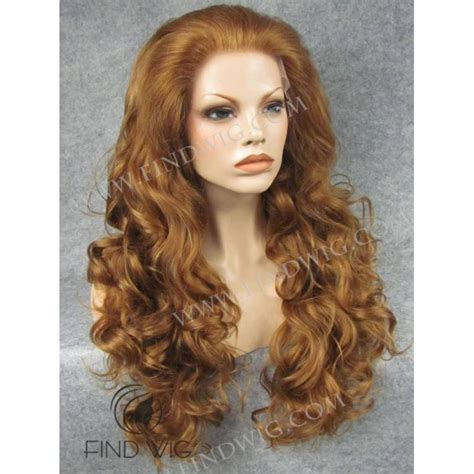 lightened front hair curly light chestnut long hair lace front wig buy wigs