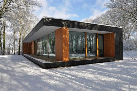 country house ireland box design studio glass and timber black box is everything we
