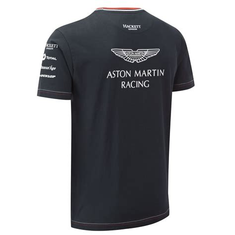 aston martin racing team aston martin racing team t shirt
