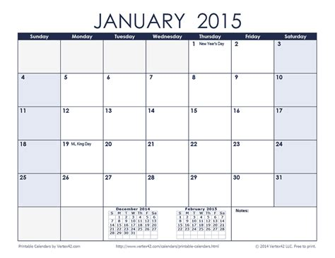 printable january schedule january 2016 calendar printable one page 2017 printable