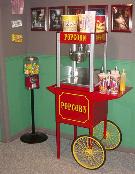 can somebody recommend a real popcorn machine for