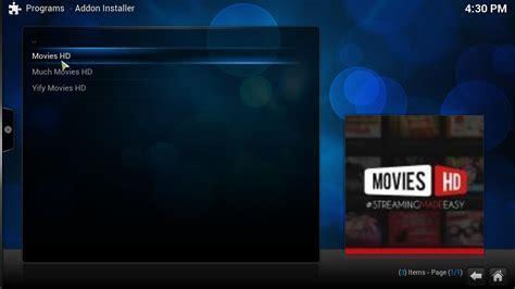film streaming for kodi guide how to install kodi movies hd addon