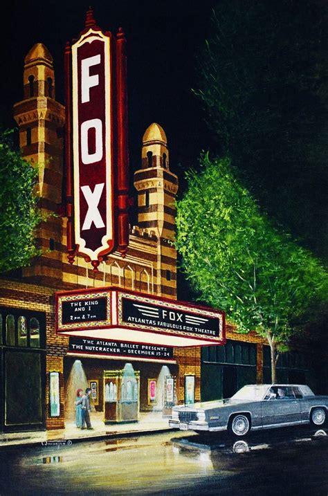 history   painting  fox theatre atlanta ga