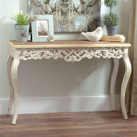 Ivory Console Table Ivory Baroque Console Table Kirklands