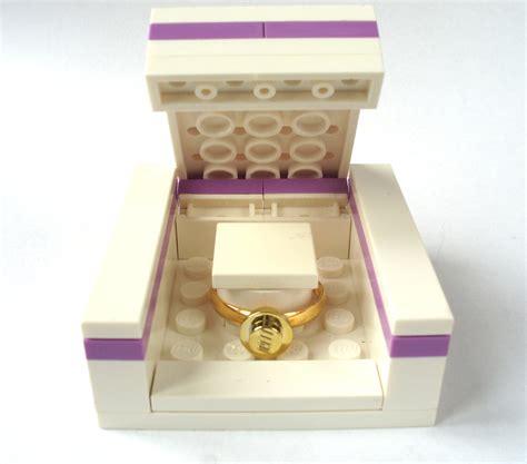 Handmade Ring Box - wedding ring box engagement ring box handmade by bitsandbadges