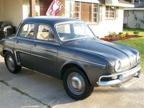 1960 renault dauphine 1960 renault dauphine bring a trailer