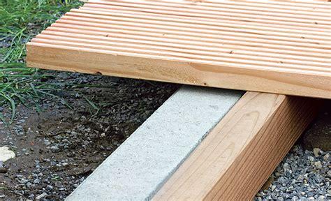 len selbst bauen terrasse holz verlegen anleitung bvrao