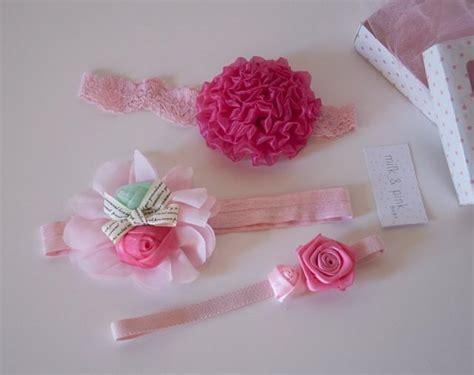 vintage style flower headband baby headband newborn baby headband set flower headband set set of 3 baby