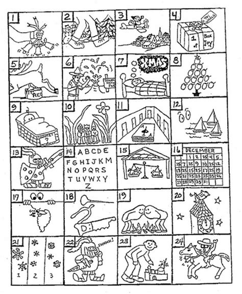 printable christmas guessing games can you guess the christmas songs from the pictures