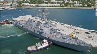The uss spruance will be commissioned at naval air station key west