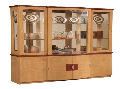 furniture modern china cabinet for interior decor corner