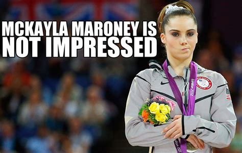Mckayla Maroney Meme - mckayla maroney is not impressed millercoors