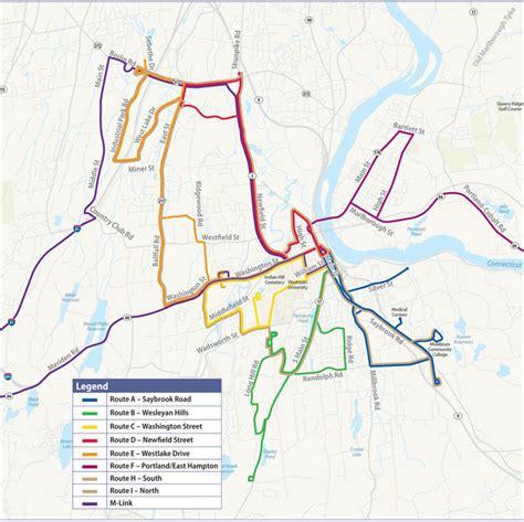 uconn cus map middletown area transit middletown ct transit mat