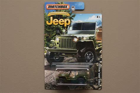 matchbox jeep 2016 matchbox 2016 jeep anniversary edition 43 jeep willys