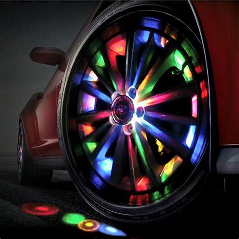 decorative lights for cers 1 car auto 12 led solar tire wheel light vehicle