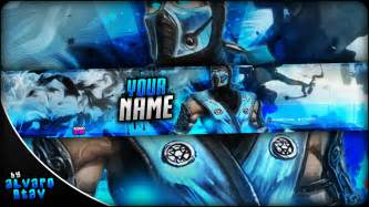 Gaming Banner Template by Free Gaming Banner Template Banner Editable Psd