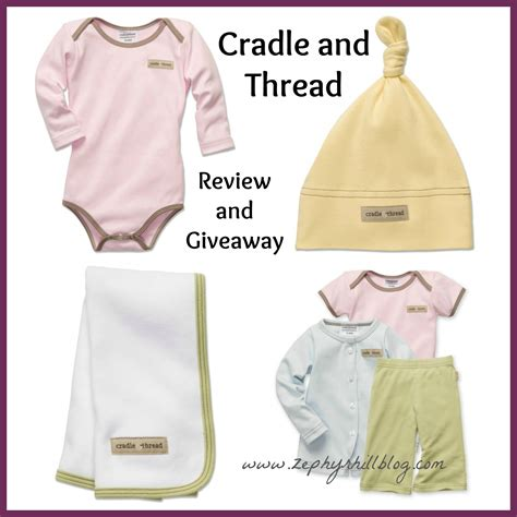 Baby Gear Sweepstakes - cradle thread baby clothing review giveaway zephyr hill