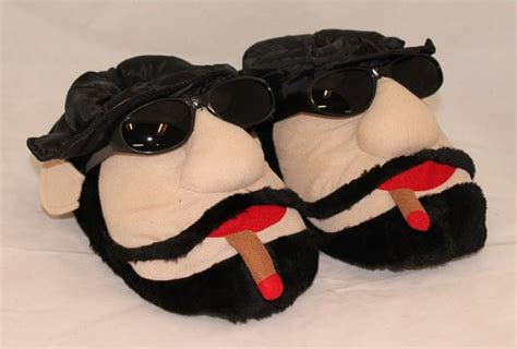 character house shoes buy mens bigfoot funny novelty boot winter slippers size 6 to 12 uk gift casual home