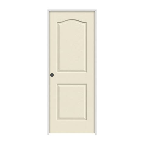 Primed Doors Interior Jeld Wen 28 In X 80 In Princeton Primed Right Smooth Molded Composite Mdf Single Prehung