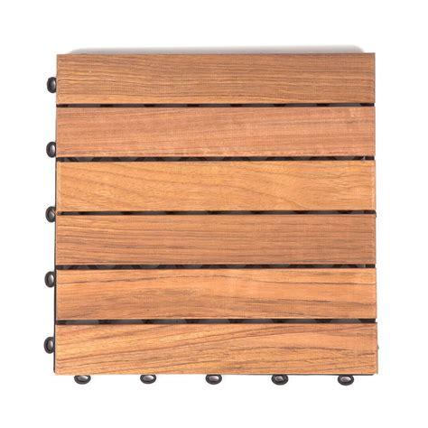 Klick Fliesen Holz 607 cumaru holzfliesen glatt 30x30cm fsc zertifiziert