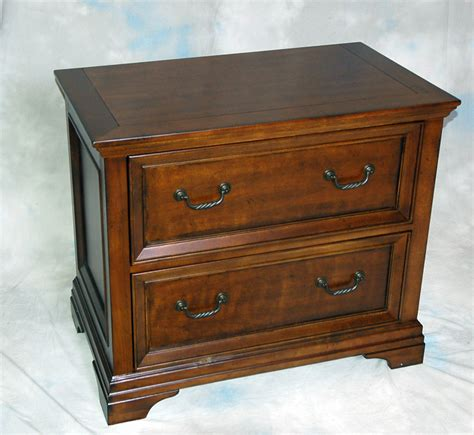 wood lateral file cabinets wood traditional cherry locking lateral file cabinet ebay